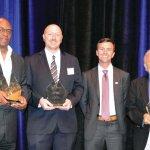 Ken Griffey Sr., Brad Wallis, Jesse Mullins and Buddy LaRosa