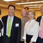 Kim Dent of the Ohio Commission on Fatherhood, John Silverman, Cathy Crain and Steve Scherzinger