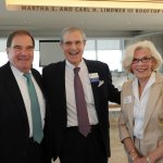 Joe Trauth, Dr. Dean Kereiakes and Barbara Trauth
