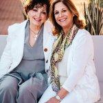 Sue Price and Sally Hiudt