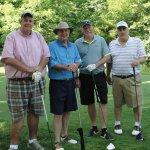 A.M. winning team: Gary Hanser, Dave Wurtengerger, Dank Theissen, Steve Holter