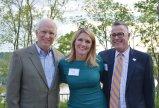 Joe Feldhaus, emeritus board member; Erika Meyer Judd, committee chair and board member; and Russell Winters, Tender Mercies CEO
