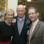 Valerie Newell, Dr. John Tew and Michael Zenz
