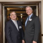 Tocqueville Society chair Jeff Rowe and Tom Sweets
