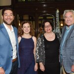 Robert S. and Allison Ferree Chavez with Debra and Robert Chavez
