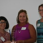 Early Head Start Partner of the Year: Stephanie Clayton, Laurie Wolsing, Susan Frankel