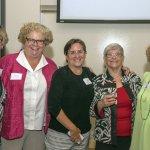 Karen Bell, Susan Ingmire, Lynn Hailey, Carol Aquino and Ann Schrader
