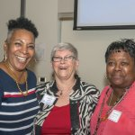 Catherine Ingram, Carol Aquino and Debbie Mariner Allsop of FamiliesFORWARD