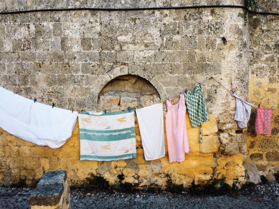 """Greek Laundry"" by Gina Weathersby"
