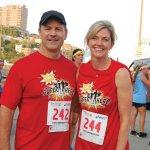 ProKids board president-elect John Hands and Katie Hands