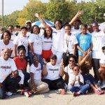 """#Teamsicklecell,"" a top fundraiser"