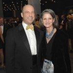 Rick Kammerer, president of The Christ Hospital Foundation, and Dr. Geraldine Vehr