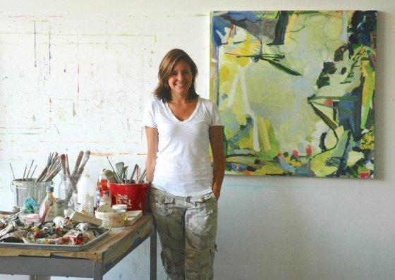 Artist Michelle Meimann, a 2016 Summerfair award winner