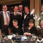 The Dwellings Table: (standing) James Steele, Will Stenger, Joe Bruemmer, Jeff Geoberti, Scott Farmer, Lt. Col. (retired) Jesse Back; (seated) Barbara Gould, Grace Jones, Lisa Schuster