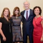 Lindsey Wade, co-chairs Linda Greenberg and Gary Greenberg, and Danielle Minson