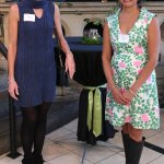Event co-chairs Cathy Hogan and Nirvani Head