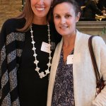 Steering committee member Lindsey Huttenbauer and Kate Nelson
