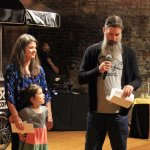 Honorees Sarah and Mark Frommeyer, owners of Blue Oven Bakery