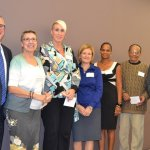 CEO Russell Winters, Caroline Schell, Stacey Witherspoon, Jackie Baumgartner, Winsome Wilson, Eugene Runyon and Randy Damron