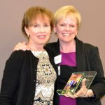 Honoree Nancy Johannigman and Marcia Spaeth