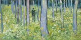 """""""Undergrowth with Two Figures"""" by Vincent van Gogh"""