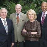Honorees William P. Butler, John P. Williams Jr., Charlene Ventura and Dr. Victor F. Garcia