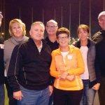 Bill Goslee, Julie Goslee, Jim Breech, Tom Steele, Patty Steele, Mary Jo Gates and Mike Gates