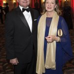 """Opera Board president Gary T. """"Doc"""" Huffman and Milly Huffman"""