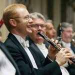 Dwight Parry and CSO oboe section colleagues Richard Johnson, Lon Bussell and Chris Philpotts