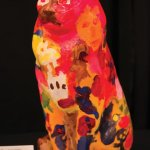 "A Painted Pet named ""Thomas Williams"" by artist David Callahan of Visionaries + Voices"
