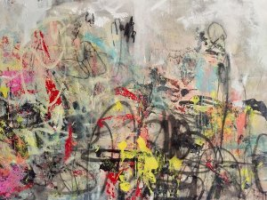 """""""Lighter Than Air,"""" featuring paintings by Atlanta expressionist Lauren Betty, opens Friday at Cincinnati Art Underground in OTR."""