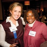 Board member Clare Blankemeyer and Elizabeth Jones