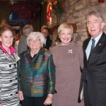 Marianne Miller, Marie Huenefeld, Kathy Demsey and Dr. Ted Miller