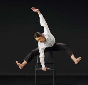 """Christina LaForgia Morse in """"Bold Moves"""" Photo by Aaron M Conway"""