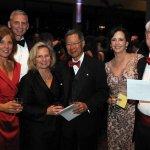 Lisa and Daniel Baker, Debra and Dr. Loren Hiratzka, Connie Dilhoff and John Prout