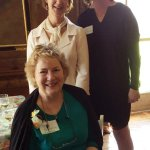 Board members Sally Heckscher, Jenny Magro and Penny Dinsmore