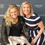 Actress Ali Stroker with WLWT anchor Megan Mitchell