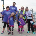 Stacey D. Stewart with Ambassador Family (Christin and Andy McCormick with daughters Camryn and Annie) and March of Dimes staffer Carey Rennekamp