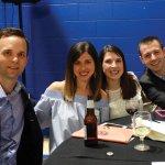 Bryan and Meredith Schapman with Joanna and Derek Manon