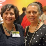 Wijdan Jreisat and Joan Kaup Credit: Lisa Desatnik
