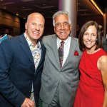 Pride Night co-chair Doug Ignatius, honoree Dr. Peter G. Courlas and co-chair Kathy Nardiello
