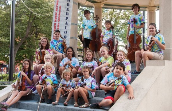 Peraza Music Workshop Ensemble at Palooza in the Park! 2016