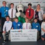 John Paul II Middle School and charity CancerFree Kids