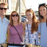 Fifth Third guests Michael Hermanson, Danielle Terreri, Katelyn Downey and Rachel Hermanson