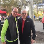Co-chair Rick June with Peter Landgren, president of the University of Cincinnati Foundation
