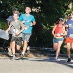 Runners Wolfgang Bingaman (78), Brock Rawers (1095), Whiney Quiambao (770) and Eric Wellinghoff (1209)