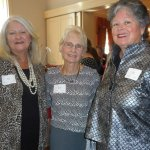 Co-chairs Nancy Purcell, Shirley Schlueter and Gail St. Pierre