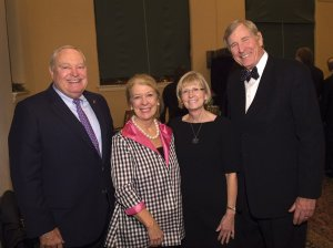 Tom and Marty Humes with Carrie Hayden and Larry Kellar