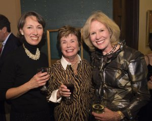 Janet Huston, Alice Rogers Uhl and Ruthann Sammarco