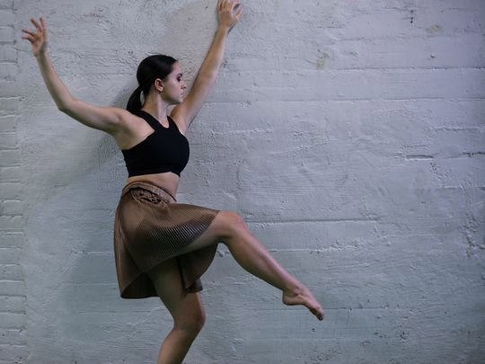 Ali Rose in 'Choreoscope' (photo by Beau Austin)